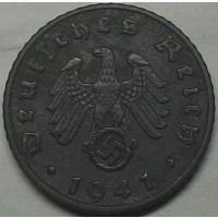 Германия 5 пфеннигов 1941 A год