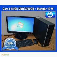 Core i5/4Gb DDR3/320Gb.HP Compaq 8100.+монитор 19. Гарантия 3 месяца