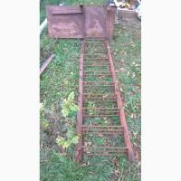 Лестница металлическая из уголка и арматуры + смотровая площадка