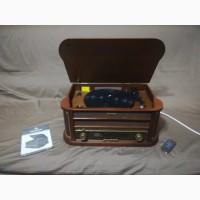 Стерео проигрыватель виниловых дисков FM CD MP3 USB AUNA BELLE EPOQUE