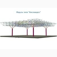 Металлоконструкция ангар модуль Кисловодск