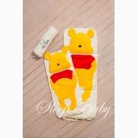 Спальный плед-конверт Винни-Пух детям (размеры любые)