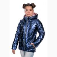 Новинка Весна 2018 Демисезонная курточка для девочки Злата с 122- 152