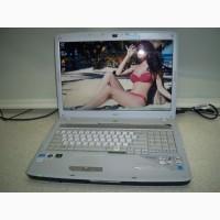 Ноутбук Acer Aspire 7720G два ядра Intel Core 2 Duo/экран 17 дюймов