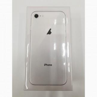 Новый Apple iPhone 8 - 64 ГБ - Серебряный завод разблокирован