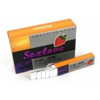Возбуждающая жевательная резинка для женщин «Sexlove+»