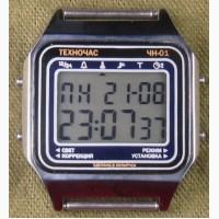 Часы ЭЛЕКТРОНИКА ЧН-01 с АЦНХ 5 мелодий арт.1137