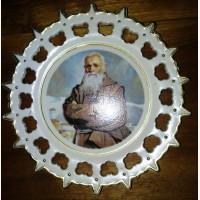Декоративная тарелка Старец