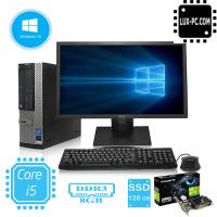 Игровой комплект компьютера Dell 790 на i5 2400 и GeForce GT 710