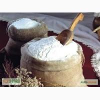 Компания производитель продает оптом муку пшеничную 5000/т в/с, 1/с цена 7грн/ кг