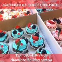 Заказать капкейки на день рождения в Киеве. Тортики на Ваши праздники, а также