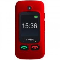 Мобильный телефон Sigma Comfort 50 Shell DS Black-Red