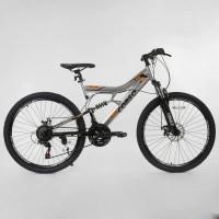Горный двухподвесной велосипед Corso Turbo 26 ( 16 рама)