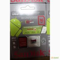 Карты памяти SanDisk Ultra 4, 16, 32, 64Gb class 10