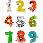 Воздушные и Фольгированные Цифры, Буквы из шаров в Киеве (Оболонь)