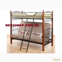 Двухъярусная трехместная кровать Fun Futon
