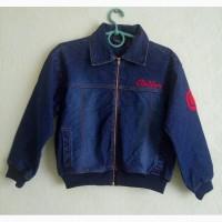 Джинсовая куртка на девочку Cotler
