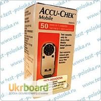 Продам Тест-кассета к глюкометру Акку-Чек Мобайл 50 тестов