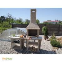 Камин барбекю для беседки, мангалы гриль для дачи, печь садовая