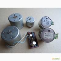 Электродвигатели к бытовым магнитофонам