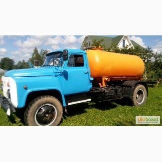 Продам ассенизаторскую машину на базе ГАЗ-53