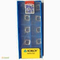Твердосплавная пластина CCGT 09T308-AK H-01, Korloy