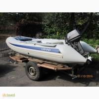 Продается комплект: лодка, двигатель, прицеп
