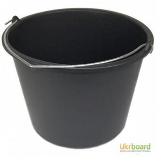 Ведра строительные, хозяйственные, технические, для краски, для мусора 12, 16 и 20 литров