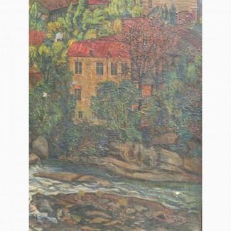 Картина Валерий Сегеда Старый Кутаиси