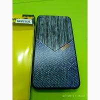 Чехол со стразами Силиконовый прозрачный с кристаллами Meizu M10