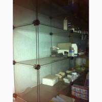 Продам стеклянную витрину стенку бу