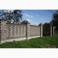 Міцний паркан з блоку від виробника у Львівській обл