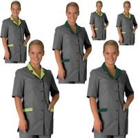 Женские костюмы для горничных, рабочая форма для клининга