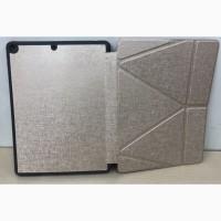 Чехол-книжка Logfer Embossing c держателем для стилуса Origami Leather Case IPad 10.2 9