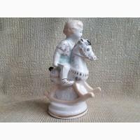 Мальчик на лошадке ЗХК, реставратору