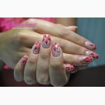 Наращивание ногтей в студии маникюра вблизи метро Левобережная