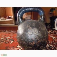Гантеля чугунная 32 кг