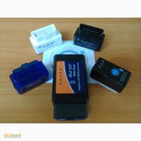 OBD II автосканер ELM327 Bluetooth V1.5 и V2.1 - в т.ч. с кнопкой