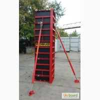 Опалубка для колонн 20х20-60х60см высота 3м