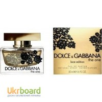 Dolce Gabbana The One Lace Edition парфюмированная вода 75 ml. (Дольче Габбана Зе Уан)