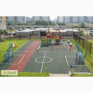 Строительство спортивных площадок «под ключ» в Киеве и Киевской области