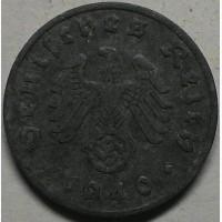 Германия 1 пфенниг 1940 год