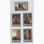Почтовые марки. СССР. 1983 Блок 071413 и 5 марок Коллекция произведений немецкой живописи