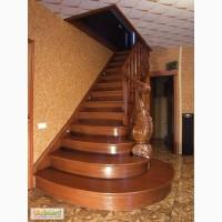 Изготовим лестницу на второй этаж из дерева.Балясины, столбы и т, д
