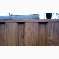 Заборная планка цена, П-образная планка на забор из профнастила