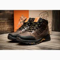 Кроссовки кожаные зимние Columbia Nubuck Brown