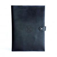 Кожаная Папка для документов (А4), органайзер, папка моряка, портфель
