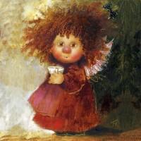 Копия картины Г.Чувиляевой Чашечка кофе