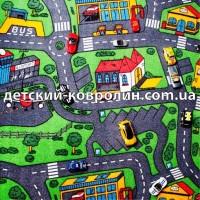 Ковры детские. Коллекция City Life. Детский ковролин