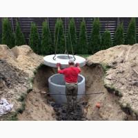 Септик из бетонных колец, автономная канализация
